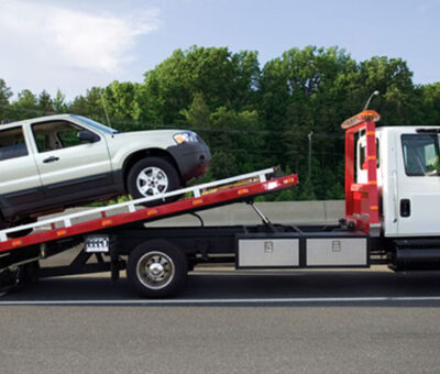Selecting towing service in Cooking Lake