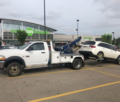 Emergency towing and flat tire services in St Albert